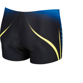 arena One Placed Print Shorts Men black-pix blue
